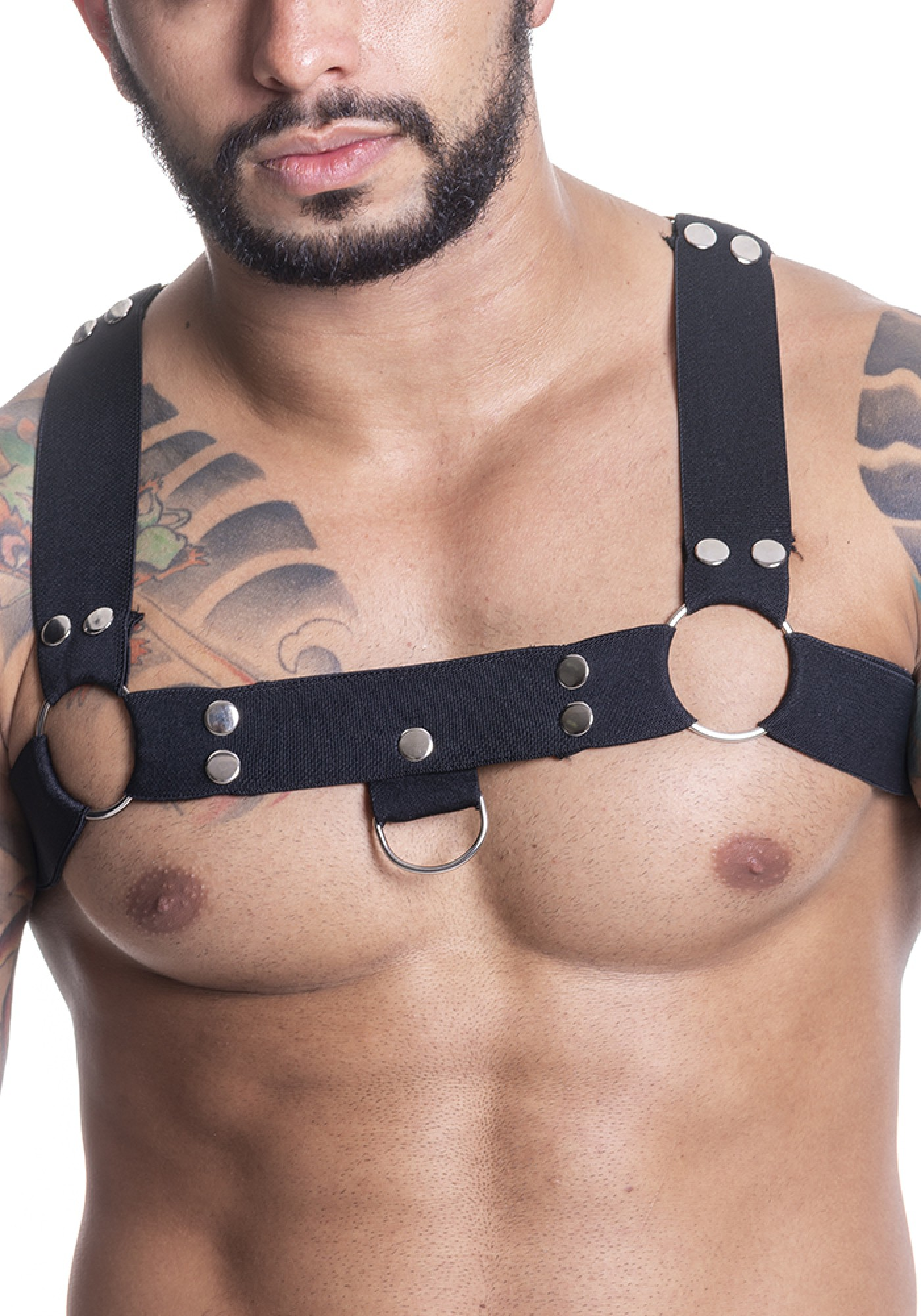 HARNESS ELASTIC BLACK